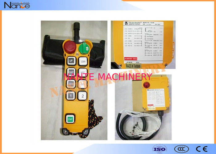 Crane Wireless Hoist Remote Control F21-8S Single Speed  Based Software
