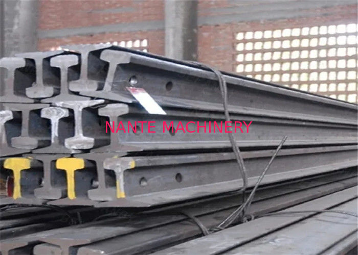 Durable Steel Crane Track Rails Qu70 Crane Rail With GB3426-82 No Fishplate